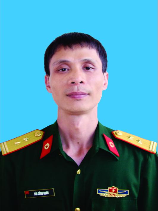 Trung tá, Bác sĩ Bùi Công Đoàn