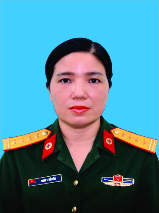 Đại tá, Bác sĩ cao cấp: Phạm Thị Hải Yến