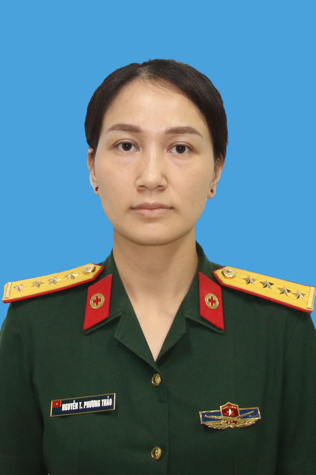 Đại úy, Bác sĩ: Nguyễn Thị Phương Thảo